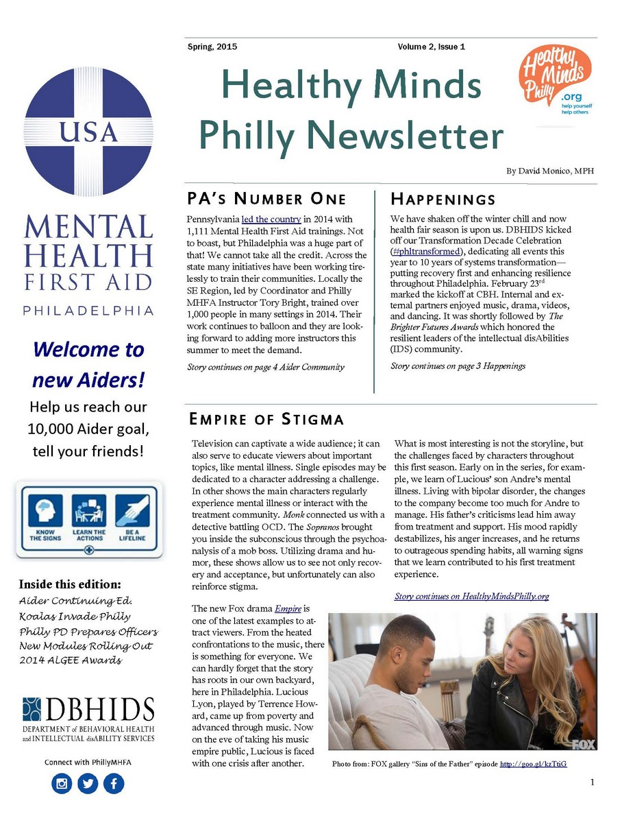 MHFA Newsletter Spring 2015_Page_1